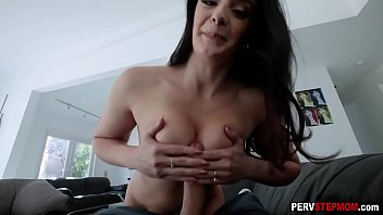 Latina stepmom helped nasty stepson and he thanked her