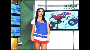 Taped broadcasts of naked news from 2001 - Goluri si goale ep 4 miki si roxana romania naked news