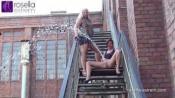 Upskirt video site Public far piss challenge roxy vs. rosella
