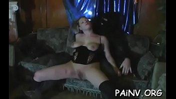 Scene girls pornography - Extreme bondage session with some teat punishment scenes
