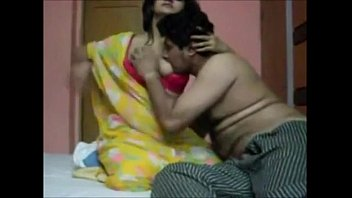 Indian hot girl enjoying honeymoon