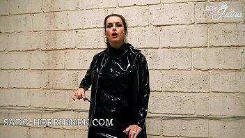 Shiny PVC Herrin Lady Julina Lack Pumps JOI f&uuml_r den High Heel Lecker