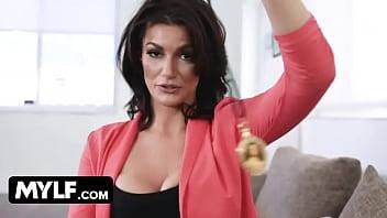MILF Step Mom Becky Bandini Hypnotizes Step Son Into Fucking Her POV thumbnail