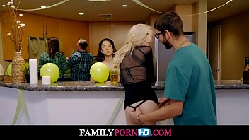 lucky brothers first threeway with slutty step sisters familypornhd com