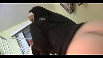 Nun worships her first cock Girl eating nun ass