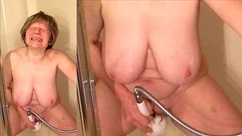 Sexy grandma is a masturbation legend