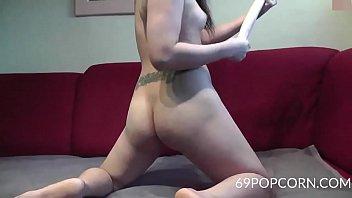 Asian 3 Feet Long Dildo in the Ass - More at 69POPCORN.COM Vorschaubild