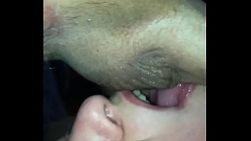 Suck my dick lick my asshole My wifes amature mouth sucks and licks and gags on my cock and licks my balls while jerking my dick off