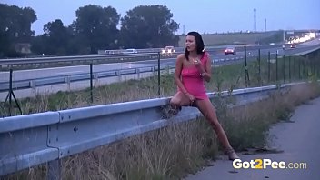 National highway traffic safety administration teen driving - Public pissing on the highway for sexy brunette