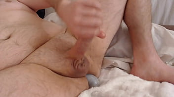 Gay ball bellies - Anal dildo edging precum cumshot cam