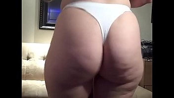 Cotton mature - Thong pawg booty tease sexy big ass in panties