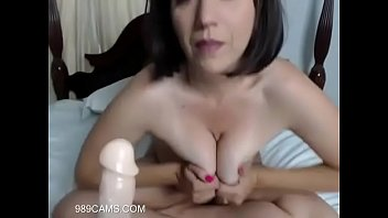 Variant Asian mom shows her tits are