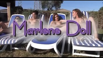 Salma hayek jasmine naked video Marlendoll, cuarteto lesbico con salma de nora