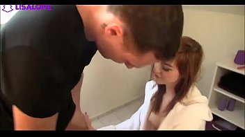 Redhead German Teen Fucked In Bathroom