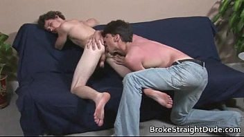 straight dude rimmed
