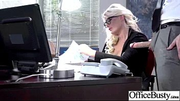 Sex Tape With Slut Office Bigtits Girl (julie cash) clip-19
