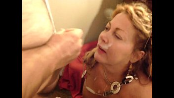 Mature woman facial - 57yo carol taking a facial