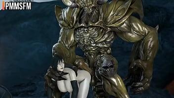 Tifa Lockhart X Knight Monster