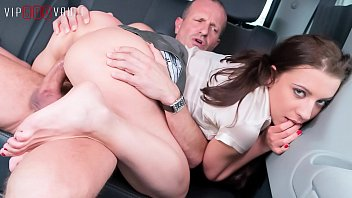 VIP SEX VAULT - Therese Bizzare Has Some Lesbian Games With Her BFF But Also Loves The Cock Of Her Driver