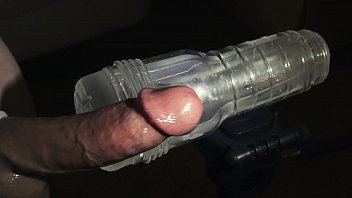 Milk can make you gay - Fleshlight hard veiny cock milking