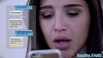 Real stepdaughter pounded on all fours