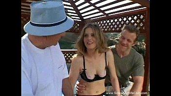 Outdoor Threesome For Slut Swinger MILF thumbnail