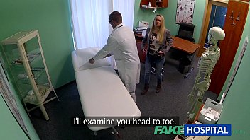 FakeHospital Dizzy Young Blonde Takes A Creampie From Doctor