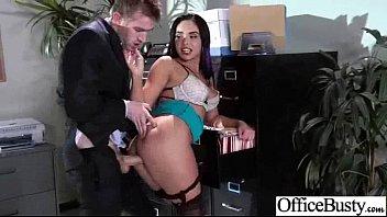 (selena santana) Naughty Slut Office Girl With Big Boobs Get Nailed video-27