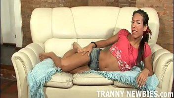 Порно трансы в обтягивающем