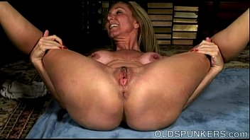 Milf wet pussy nice ass Lovely old spunker shows off her sexy yoga stretches