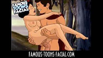 Disney porn blog - Famous-toons-facial disney01