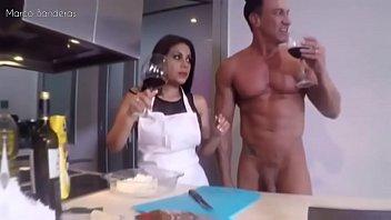 Kesha Ortega cooks Arepas
