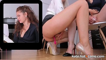 Hard Working Lesbian Couple Pissing and Squirting in the Office // ONLINE NOW at KATE.HOT4CAMS.COM