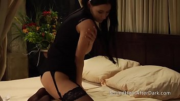 Panties In Mouth Stops Lesbian Slave From Screaming During Whipping