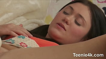 Lustfull Teen with Gorgeous heinie &amp_ with very narrow smooth-shaven cum bucket screws penis