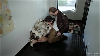 Spoiled Rich Teen Gets A Hard Fuck And Creampie thumbnail