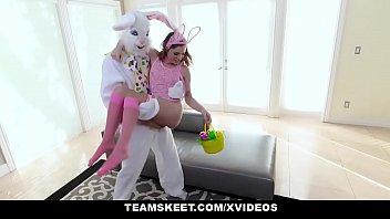 ExxxtraSmall - Hot Easter Bunny Summer Brooks Takes A Huge Bunny Cock thumbnail