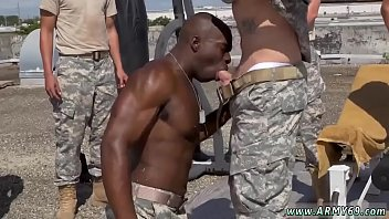 Very dirty old man gay sex movie first time Staff Sergeant knows what
