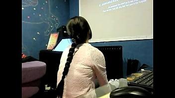 Bengali lesbians having hairjob Hairjob video 026