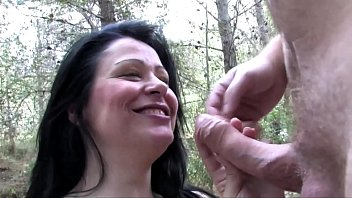 Busty spanish fucking in the park