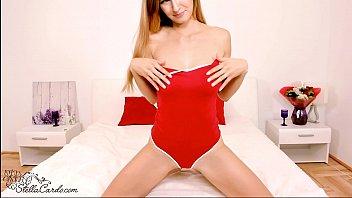 Redhead Babe JOI Play and Masturbates Pussy - Orgasm Closeup