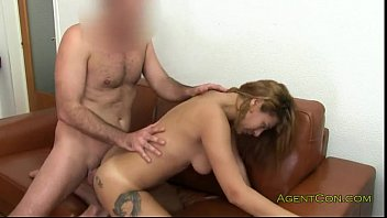 Brunette with great body asshole fucked on casting preview image