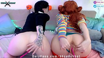Lesbian babes play pussy stream tits ass AliceBong