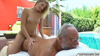 hot massage for grandpa 6 min