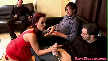 Euro slut pussy and anal fucked by 2 guys