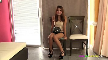 Innocent Thai teen fucked raw on casting couch
