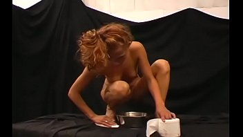 One Girl Gets Drilled While Another Gets Bizarre Humiliation