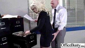 (julie cash) Big Boobs Girl Enjoy hard Style Sex In Office clip-19