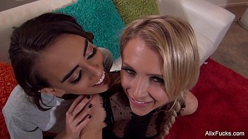 Alix Lynx and Janice Have a threesome