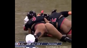 Hairy football player Naked wife football